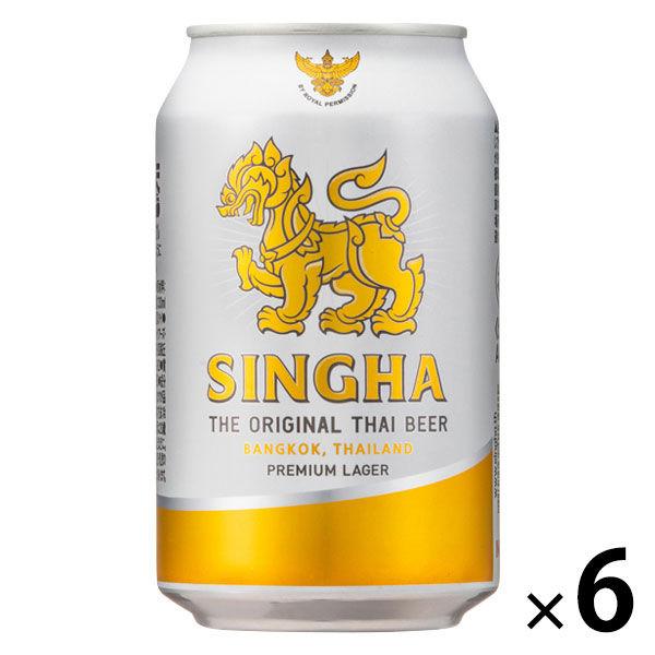 シンハービール 330ml×6缶