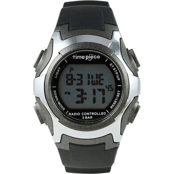 インテック タイムピース デュアルパワー電波時計 TPW-001GM(直送品)