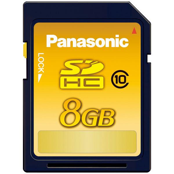 Panasonic 8GB 高速タイプ