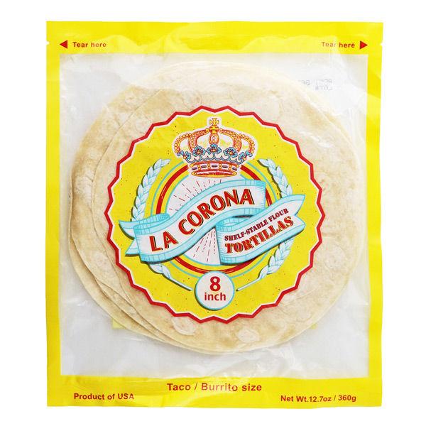 Romero's Food Products カルディコーヒーファーム〈オーバーシーズ〉 ラ コロナ フラワートルティア 20cm×8枚 360g 0021108233053 1袋