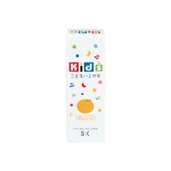 ヱスケー石鹸 キッズハミガキ オレンジ 4964495600847 1セット(24個)(直送品)