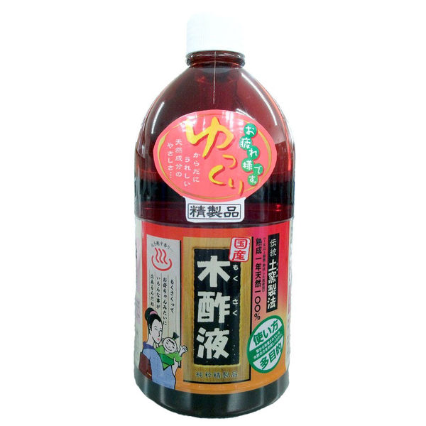 日本漢方研究所 純粋木酢液 1L 4984090555182 1セット(12個)(直送品)