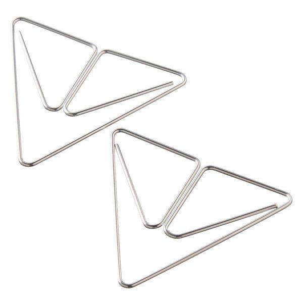大容量クリップ・2個入り 三角