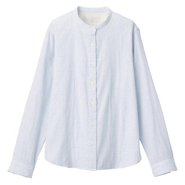 無印 良品 スタンド カラー シャツ