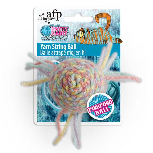 ヤーン ストリングボール 猫用 おもちゃ