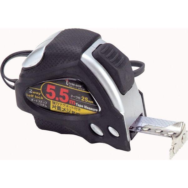 イチネンMTM オートロックメジャー 25mm巾5.5m マグネット付 31218(直送品)