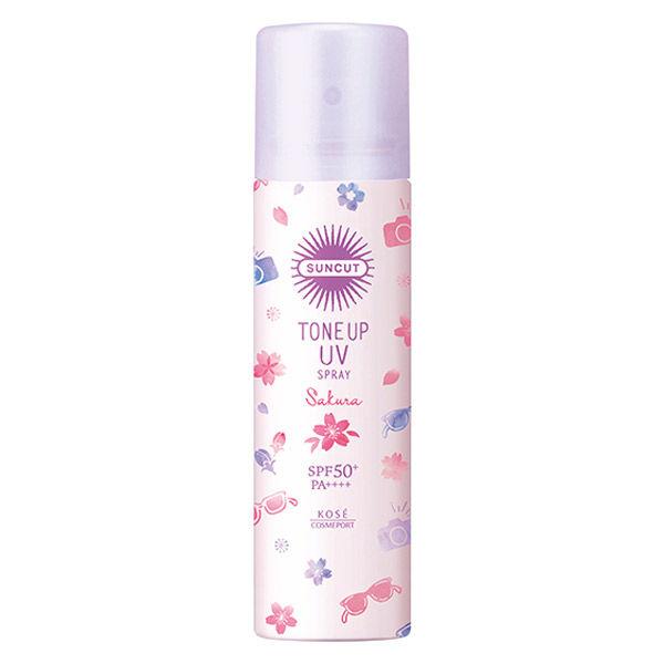 限定トーンアップUVスプレー 桜の香り