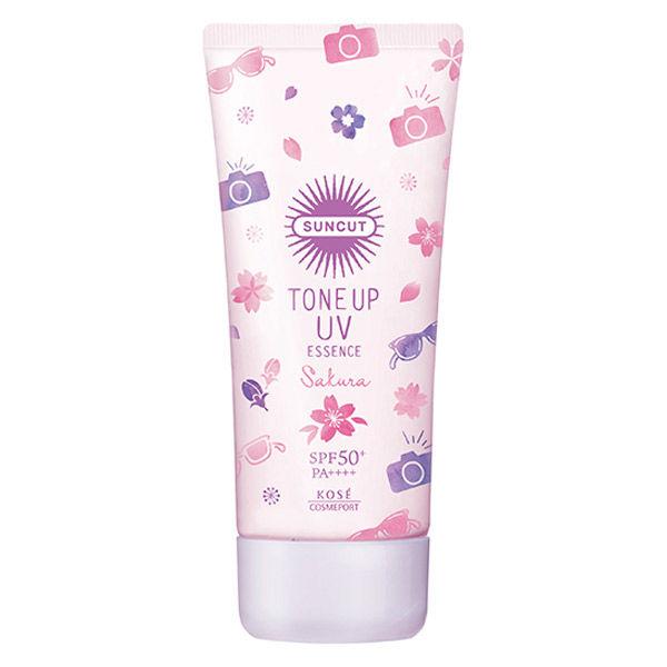 限定トーンアップUVエッセンス 桜の香り