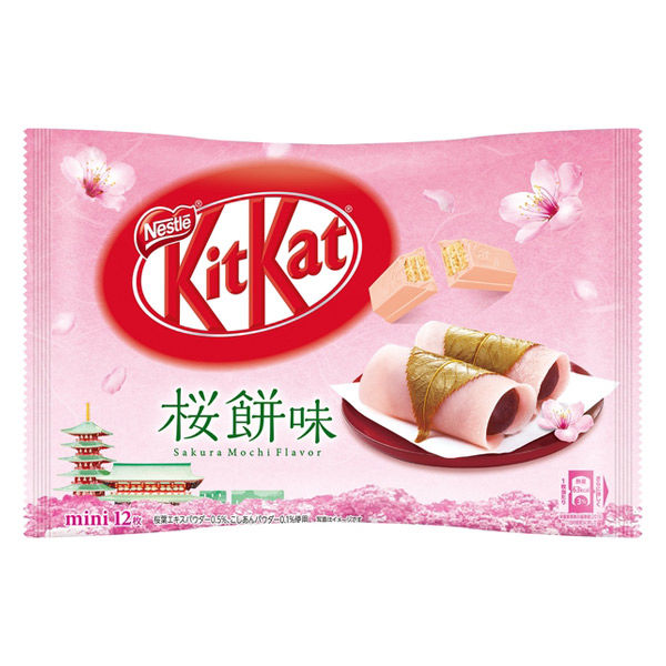 キットカット ミニ 桜餅味 12枚 1袋