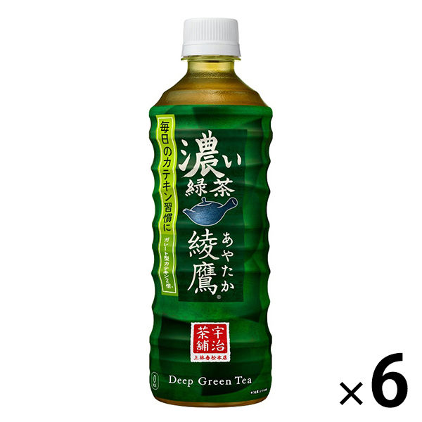 綾鷹 濃い緑茶 525ml 6本