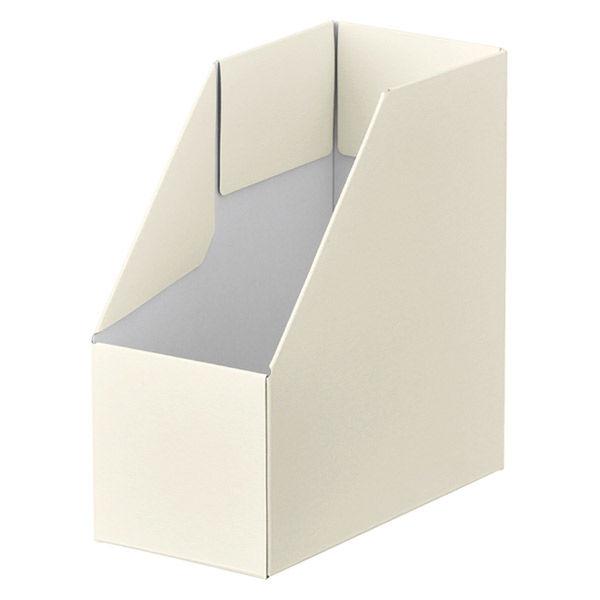 ボックスファイル B6タテ アイボリー