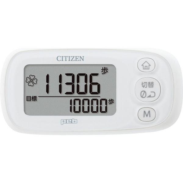 シチズン 3D加速度センサー歩数計 シチズン TWT512-WH ホワイト(直送品)