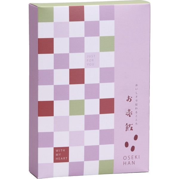 【3箱セット】お赤飯(2合)  (直送品)