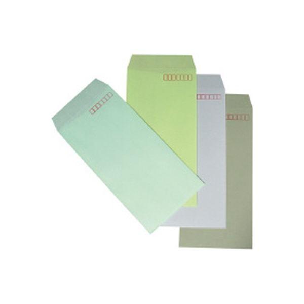 カラークラフト封筒 長3 鶯 1000枚 N3S-429 イムラ封筒(直送品)