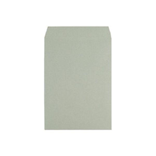 カラークラフト封筒 角2 灰 500枚 K2S-425 イムラ封筒(直送品)