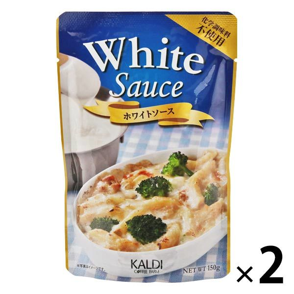カルディホワイトソース化学調味料不使用2