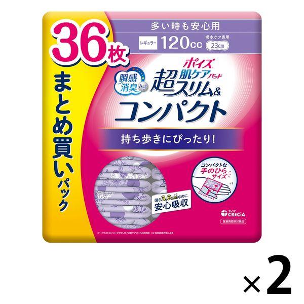 ポイズパッド超スリム多い時用30枚×2