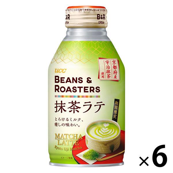 抹茶ラテ玉露入り 260g 6缶
