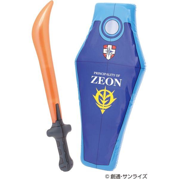 池田工業社 機動戦士ガンダム グフシールド&ヒートサーベル 931600(直送品)