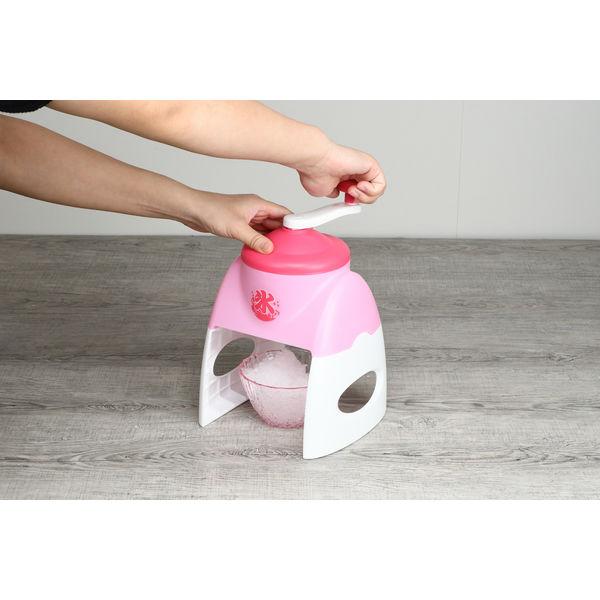 かき氷器 お家で簡単 イチゴ