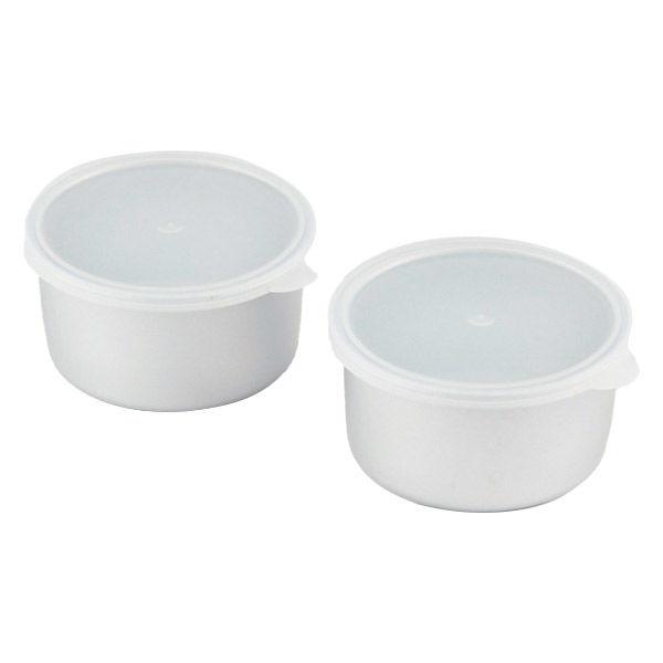 製氷カップ 2個組 アルミ製