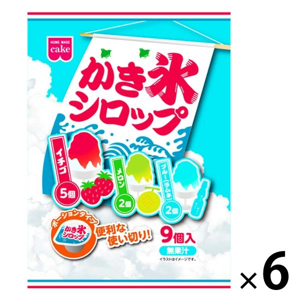 かき氷シロップ 6袋
