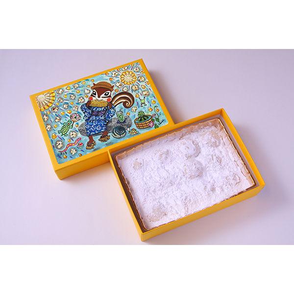 西光亭 三越伊勢丹〈西光亭〉くるみのクッキー とうもろこし 1箱 伊勢丹の紙袋付き 手土産ギフト 洋菓子