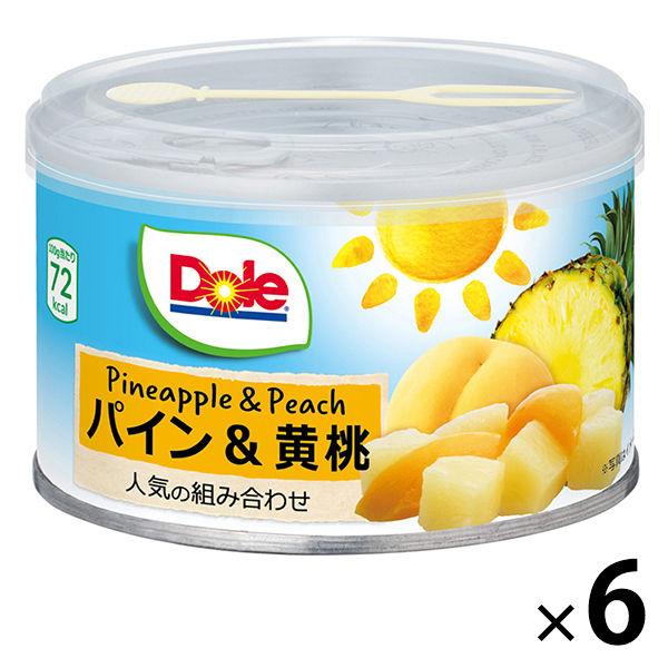 ドール パイン&黄桃 227g 6缶