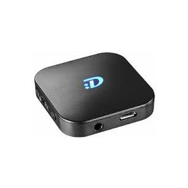 ダダンドール Bluetoothオーディオトランスミッター&オーディオレシーバー ブラック DDBTTXRX01BK 1台(直送品)