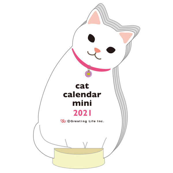 卓上カレンダー ねこ 100×65