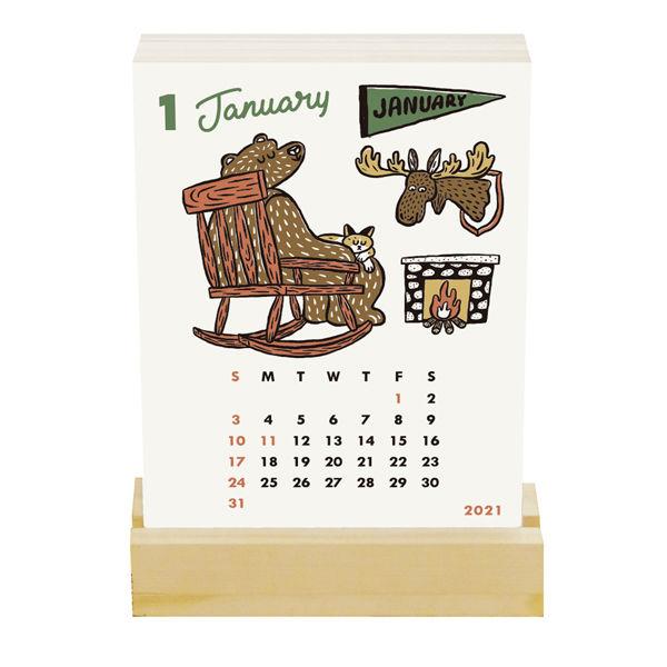 卓上カレンダー オカタオカ175×105