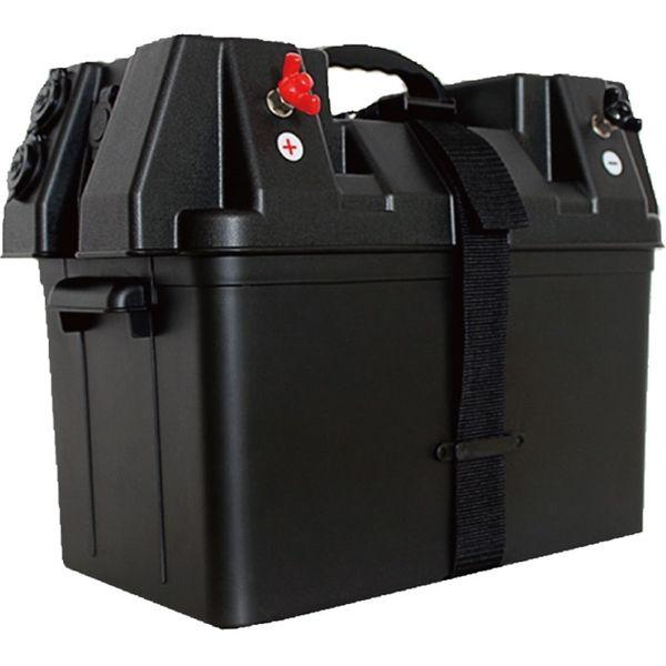 ケービーエル バッテリーポータブルボックス RK-DP001 1台(直送品)