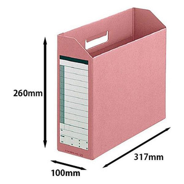プラス ボックスファイル A4