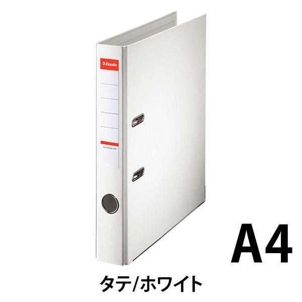 アコ・ブランズ・ジャパン レバー式アーチファイル A4タテ 背幅52mm ホワイト 40ST 1箱(10冊入)