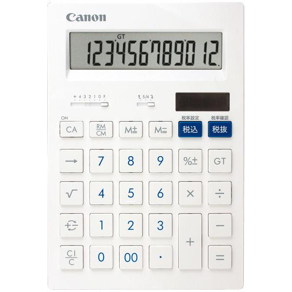 キヤノン 大型電卓 HS-1201T