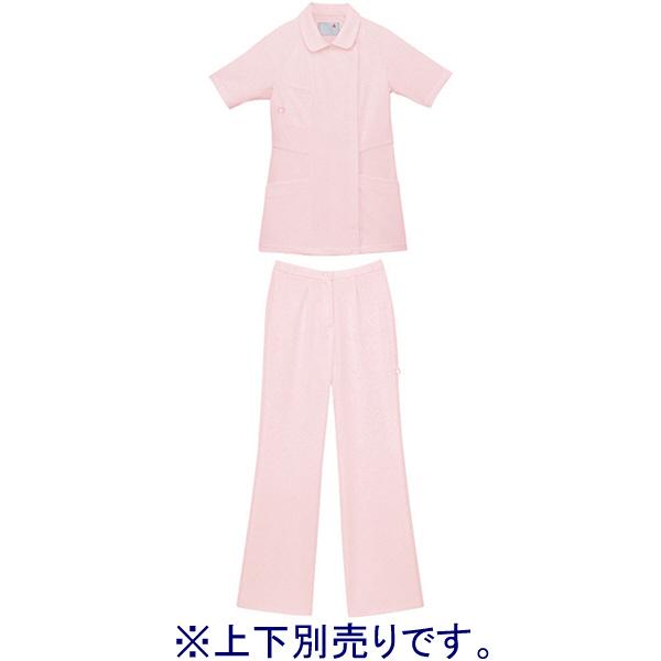ルコックスポルティフ ナースジャケット レディスジャケット(ラウンドカラー) UQW1012 ピンク LL