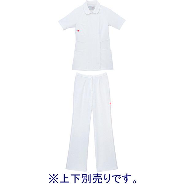 セミブーツカットパンツ ホワイト M