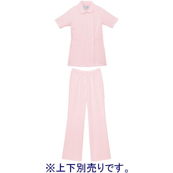 ルコックスポルティフ ナースパンツ セミブーツカットパンツ UQW2012 ピンク L
