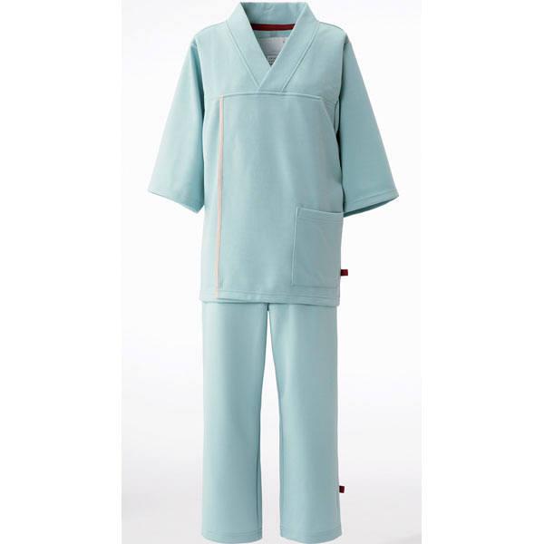 ナガイレーベン 検診衣上衣 グレーL LK1436 (取寄品)