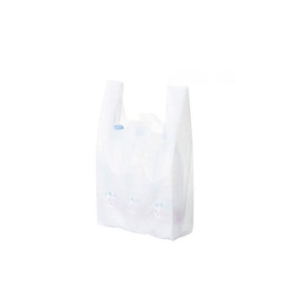 レジ袋 乳白 No.45 6000枚