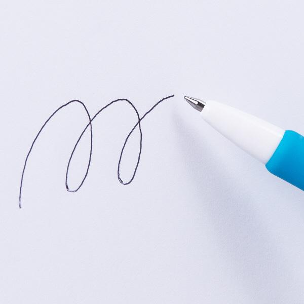 油性ボールペン ジムノックカラー 0.7mm 黒インク 50本 ゼブラ