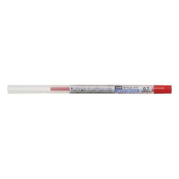 三菱鉛筆(uni) スタイルフィットリフィル芯 ジェットストリームインク 0.7mm 赤 SXR-89-07 1本
