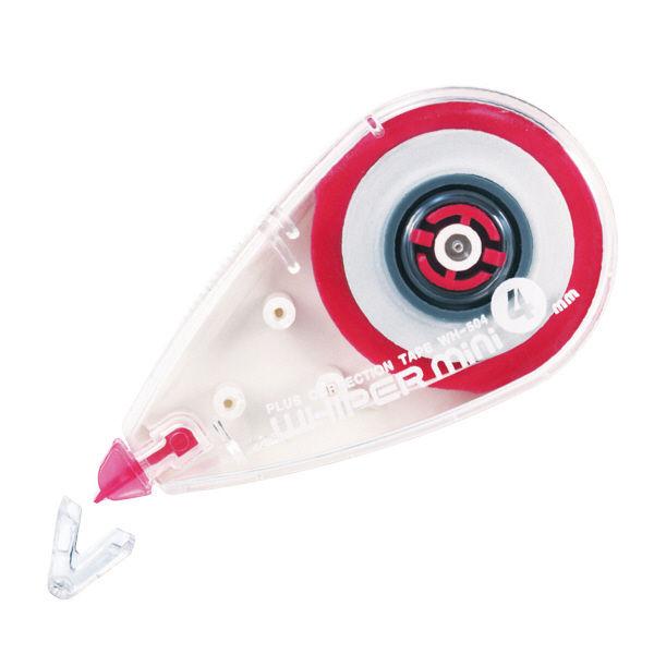 プラス 修正テープ ホワイパーミニ 4mm幅 WH-504 1個 (直送品)