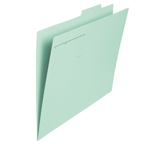 プラス フォルダー(個別フォルダー) A3 ブルー FLー069IF 1袋(10枚入) (直送品)