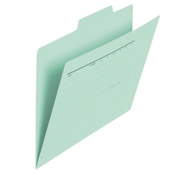プラス フォルダー(個別フォルダー) A5 ブルー FLー066IF 1箱(100枚:10枚入×10袋) (直送品)