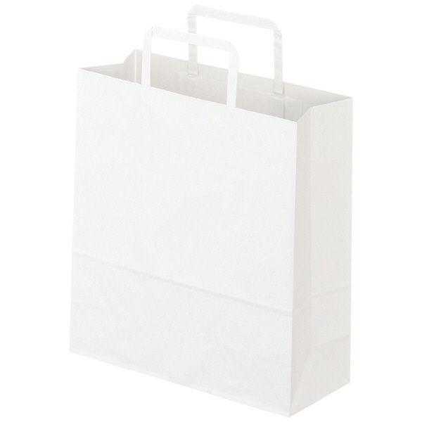 平紐 手提げ紙袋 白 S 300枚