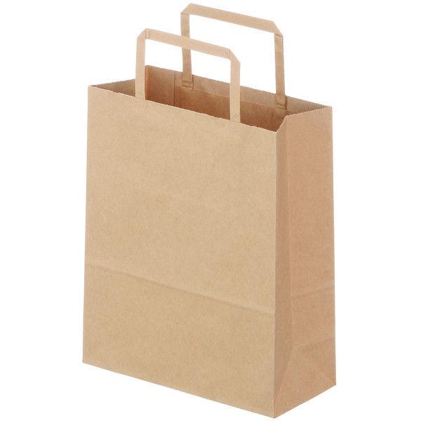 平紐 手提げ紙袋 茶 SS 900枚