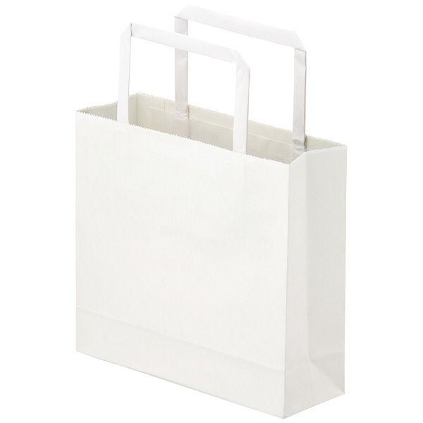 平紐 手提げ紙袋 白 3S 900枚