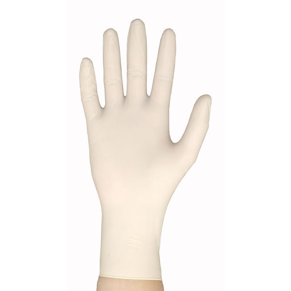 リーブル バリアローブNo.2410ラテックス手袋ハイグリップパウダーフリー SS 1箱(100枚入) (使い捨て手袋)