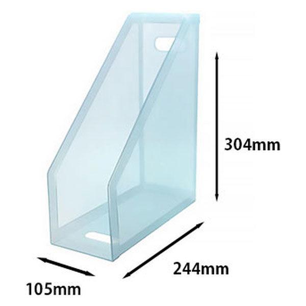 セキセイ クライマックスボックス(A4フリー) ブルー SSS-805-10 1セット(5個)